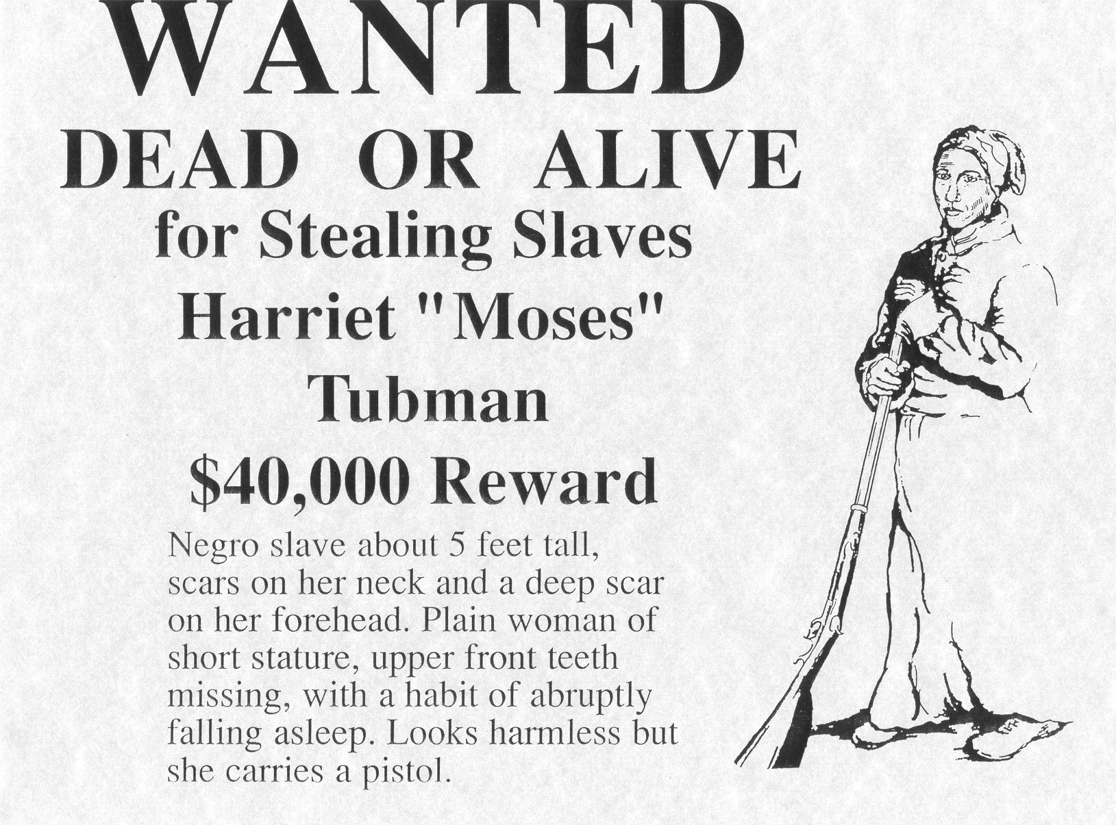 Harriet Tubman - General Moses - Underground Railroad ...